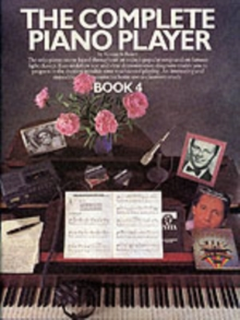 The Complete Piano Player : Book 4, Paperback Book