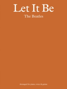 The Beatles : Let it be - Pvg, Paperback / softback Book