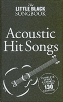 The Little Black Songbook : Acoustic Hits, Paperback / softback Book