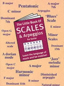 The Little Book Of Scales And Arpeggios For Guitar, Paperback / softback Book