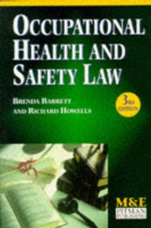 Occupational Health And Safety Law, Paperback Book