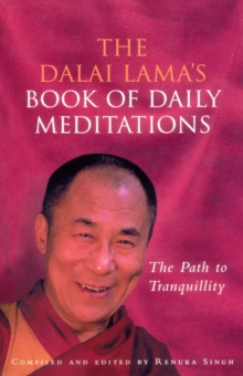 The Dalai Lama's Book Of Daily Meditations, Paperback / softback Book