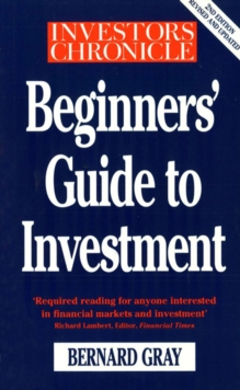 Investors Chronicle Beginners' Guide To Investment, Paperback Book