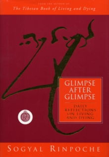 Glimpse After Glimpse : Daily Reflections on Living and Dying, Hardback Book