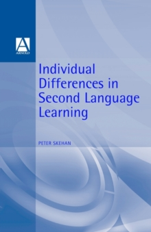 Individual Differences in Second-language Learning, Paperback Book