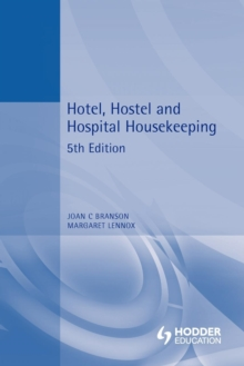 Hotel, Hostel and Hospital Housekeeping, Paperback Book
