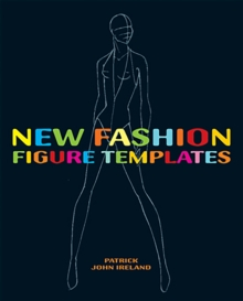 New Fashion Figure Templates, Paperback Book