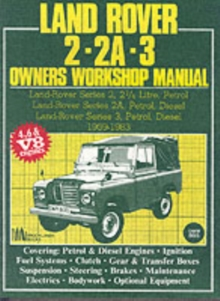 Land Rover 2, 2A, 3 Owner's Workshop Manual 1959-1983, Paperback Book
