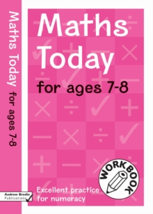 Maths Today for Ages 7-8, Paperback Book