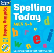Spelling Today for Ages 5-6, Paperback Book