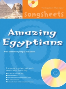 Amazing Egyptians : A Fact Filled History Song by Suzy Davies, Mixed media product Book