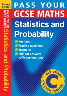 Pass Your GCSE Maths: Probability and Statistics, Paperback Book