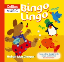 Bingo Lingo : Supporting Literacy with Songs and Rhymes, Paperback Book
