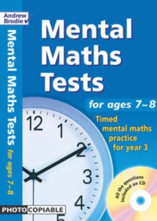 Mental Maths Tests for Ages 7-8 : Timed Mental Maths Practice for Year 3, Mixed media product Book