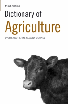 Dictionary of Agriculture, Paperback Book