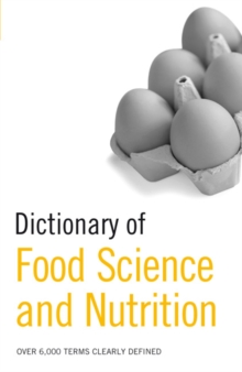 Dictionary of Food Science and Nutrition, Paperback / softback Book
