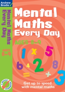 Mental Maths Every Day 8-9, Paperback Book
