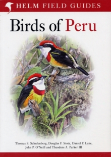 Birds of Peru, Paperback Book