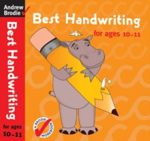 Best Handwriting for Ages 10-11, Paperback Book