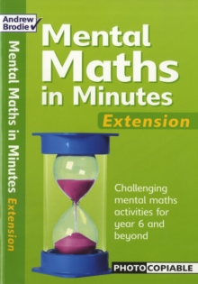 Mental Maths in Minutes : Extension, Paperback / softback Book