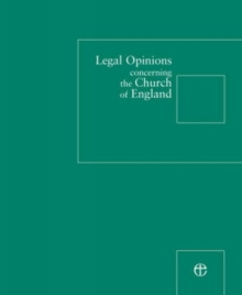 Legal Opinions Concerning the Church of England, Loose-leaf Book