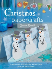 Christmas Papercrafts, Paperback Book