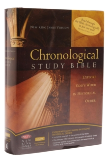NKJV, The Chronological Study Bible, Leathersoft, Brown/Navy : Holy Bible, New King James Version, Hardback Book