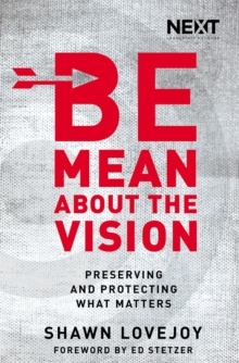 Be Mean About the Vision : Preserving and Protecting What Matters, Paperback Book