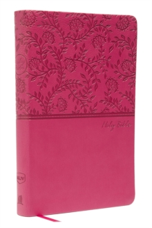 NKJV, Value Thinline Bible, Standard Print, Leathersoft, Pink, Red Letter Edition, Comfort Print, Leather / fine binding Book