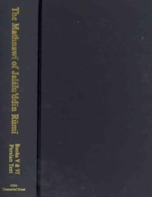 The Mathnawi of Jalalu'ddin Rumi, Vol 5, Persian Text, Hardback Book