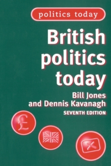 British Politics Today, Paperback Book