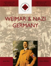 Weimar and Nazi Germany, Paperback Book