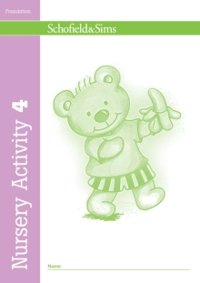 Nursery Activity Book 4, Paperback Book