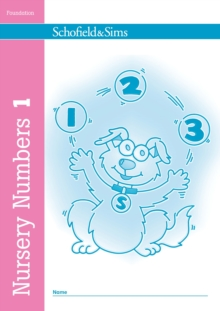 Nursery Numbers Book 1, Paperback Book