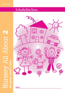 Nursery All About Where I Live, Paperback Book
