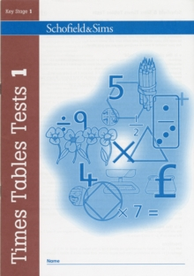 Times Tables Tests Book 1, Paperback / softback Book