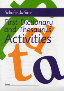 First Dictionary and Thesaurus Activities, Paperback Book