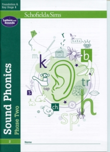 Sound Phonics Phase Two: EYFS/KS1, Ages 4-6, Paperback Book