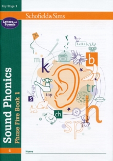 Sound Phonics Phase Five Book 1: KS1, Ages 5-7, Paperback / softback Book