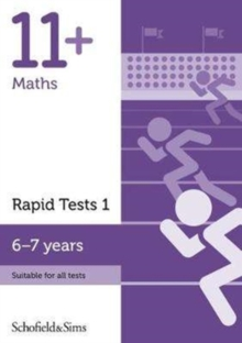 11+ Maths Rapid Tests Book 1: Year 2, Ages 6-7, Paperback Book