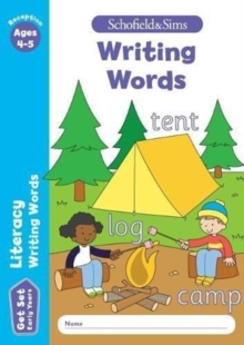 Get Set Literacy: Writing Words, Early Years Foundation Stage, Ages 4-5, Paperback Book