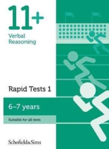 11+ Verbal Reasoning Rapid Tests Book 1: Year 2, Ages 6-7, Paperback / softback Book