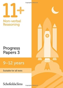 11+ Non-verbal Reasoning Progress Papers Book 3: KS2, Ages 9-12, Paperback / softback Book