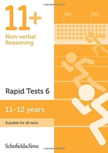 11+ Non-verbal Reasoning Rapid Tests Book 6: Year 6-7, Ages 11-12, Paperback / softback Book