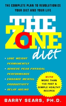 The Zone Diet, Paperback / softback Book