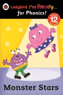 Monster Stars: Ladybird I'm Ready for Phonics Level 12, Paperback Book
