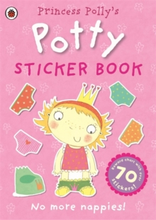 Princess Polly's Potty Sticker Activity Book, Paperback Book