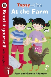 Topsy and Tim: At the Farm - Read it Yourself with Ladybird : Level 1, Paperback Book
