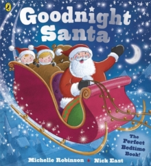 Goodnight Santa : Board Book INT, Paperback Book
