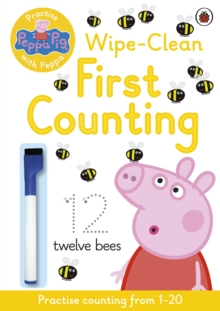 Peppa Pig: Practise with Peppa: Wipe-Clean First Counting, Paperback / softback Book